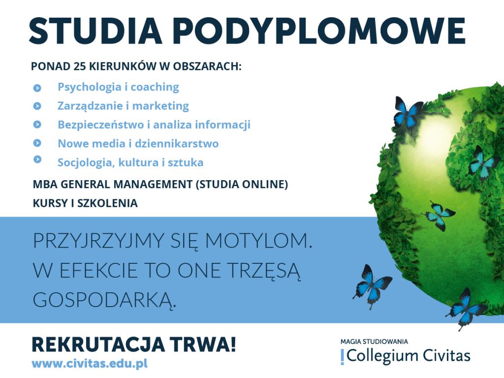 studia podyplomowe Collegium Civitas